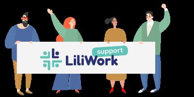 support et aide de Liliwork